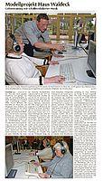 Presseartikel AVWF-Projekt Griesheimer Woche