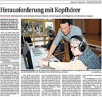 Presseartikel AVWF-Projekt Darmstädter Echo