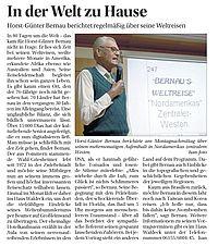 Bericht Bernaus Weltreisen